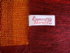 Moroccan Throw Bedspread Sofa Cover Red Handwoven Wool Sabra Cactus Silk 270 cm x 170 cm